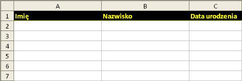 Excel: przykład 5
